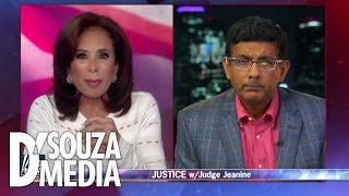 Dinesh D'Souza & Judge Jeanine DESTROY Hillary's attempted