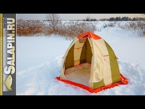 ловим в палатке