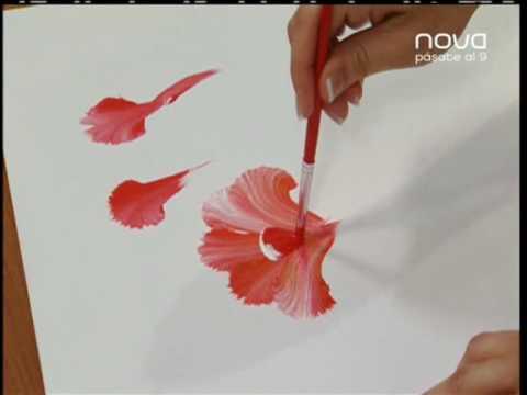 Nuria Sánchez nos enseña a pintar con la técnica multicarga Bien Simple utilísima