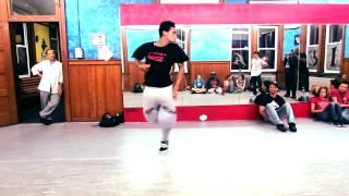 DUBSTEP & AllStyles | Dance Battle Exhibition - Animated J VS Danzel Stout | Popping & Hip Hop
