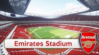 Minecraft - MEGABUILD - Emirates Stadium (Arsenal) + DOWNLOAD [Official]