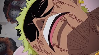 DOFLAMINGO DEFEATED | One Piece ワンピース Episode 734 - Dressrosa Saved At Last
