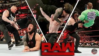 WWE Raw 19 March 2018 Highlights HD   WWE Raw 03/19/2018 Full Highlights HD