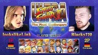 Let's Battle ULTRA Street Fighter II The Final Challengers - Ein Noob wird salty!