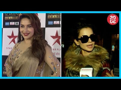 Madhuri Excited To Work With Anil | Kangana Remains Tight-Lipped On Hrithik Roshan Controversy