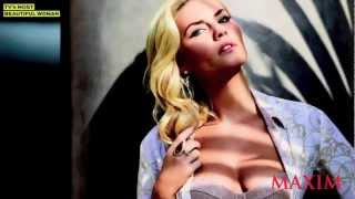 Elisha Cuthbert Boobilicious In Her Maxim March 2013 Photoshoot Behind The Scenes