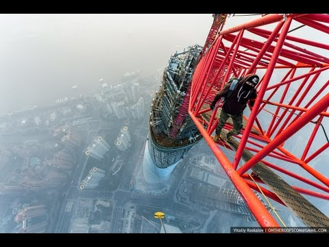 Insane Parkour And Freerunning 2016 - Shanghai Tower (650 meters)