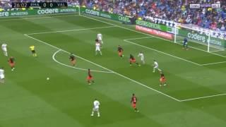 اهداف مباراة ريال مدريد وفالنسيا 2 - 1 HD شاشه كامله تعليق روؤف خليف
