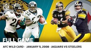 2007 AFC Wild Card: Jaguars vs. Steelers (FULL GAME)   #FreeGameFridays   NFL