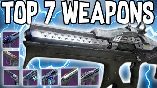 Destiny 2 | Top 7 Weapons To Use In Trials! EASY FLAWLESS VICTORY!