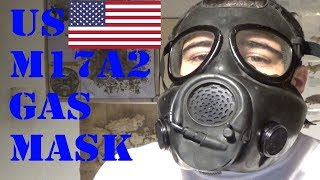 US M17A2 Gas Mask Review and Test