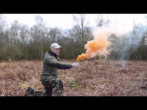AIRSOFT SMOKE GRENADE - Enola Gaye EG18 Military Assault Smoke