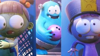 Funny Animated Cartoon | Spookiz Play Peekaboo Game 스푸키즈 | Cartoon for Children