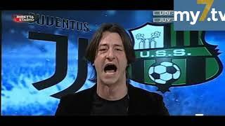 DirettaStadio 7Gold Juventus Sassuolo 7-0 Oppini entusiasta per una grande Juve!