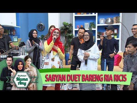 Keren Bgt Nih, Group Musik Sabyan Duet Bareng Ria Ricis - Rumah Mama Amy - (255)