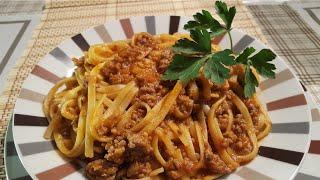 Sabrosos Tallarines & Bolognese o Boloñesa | Cocina con Rock ¡¡