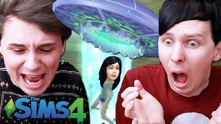 TABITHA GETS ABDUCTED - Dan and Phil Play: Sims 4 #26