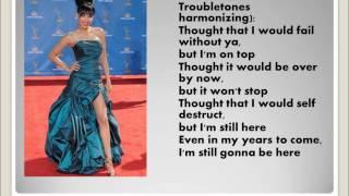 Survivor & I Will Survive Glee Lyrics