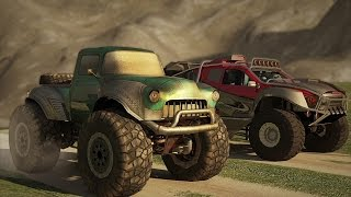 Monster Trucks Racing Mobile Game Trailer