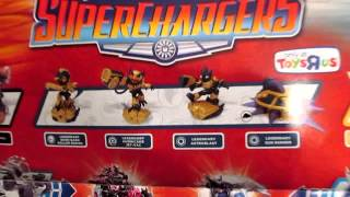 Skylanders SuperChargers TRU Demo Day Poster Review