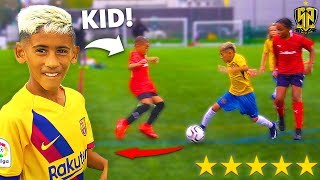 8 YEAR OLD KID MESSI SCORES A SCREAMER! SV2 1 MILLION PRO Football Competition