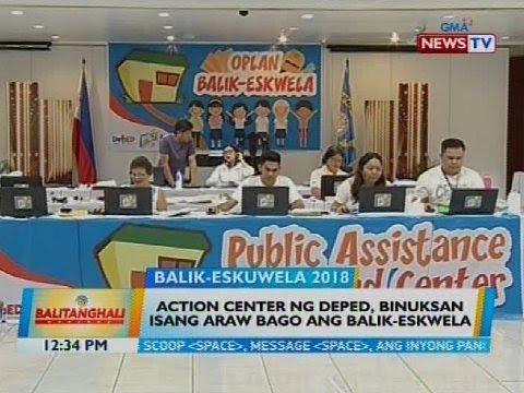 Xxx Mp4 Action Center Ng DepEd Binuksan Isang Araw Bago Ang Balik Eswela 3gp Sex