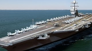 WORLDS LARGEST AIRCRAFT CARRIER to Boost US Military Power