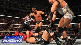 Rey Mysterio, Sin Cara & Los Matadores vs. Curtis Axel, Ryback & The Real Americans