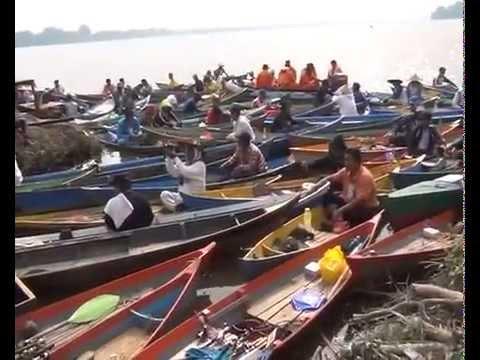 LOMBA MANCING UDANG GALAH Se KALBAR 2014 DI SUNGAI RASAU