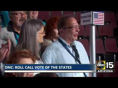 HEARTBREAKING. Brother Larry Sanders cries thru vote for BERNIE SANDERS Democratic Convention