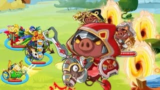 Angry Bird Epic♥ NEW EVENT DEFAT THE WORLD BOSS - PART 1