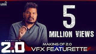 Making of 2.0 VFX Featurette   Rajinikanth, Akshay Kumar   Shankar   A.R. Rahman   Lyca Productions