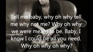 Enrique Iglesias - Why not me (Lyrics On Screen)