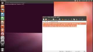 How to write,compile and run c program in Linux Ubuntu/Mint