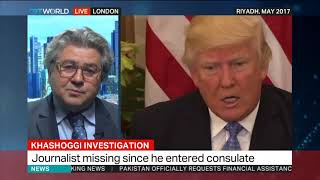 Mehmet Ogutcu discusses disappearance of Jamal Khashoggi