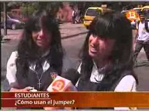 Historia del jumper uniforme ideado para las chilenas