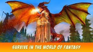 🐲Dragon Fantasy War Survival 3D-Выживание драконов-B yWild Animals Clan-Android