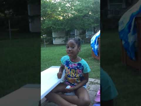 Jessica's world 1st video kinder joy part 1