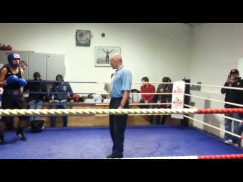My First Amateur Boxing Fight (BLUE)