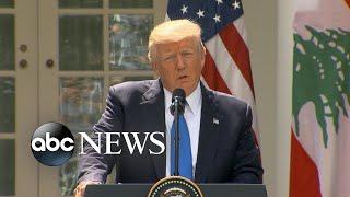 Donald Trump says he