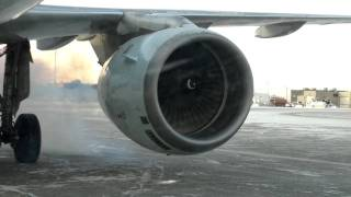 Airbus A320 Cold start -28C