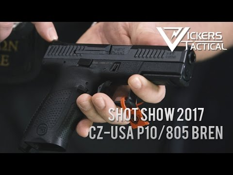 watch Shot Show 2017 - CZ-USA P10/805 Bren Carbine