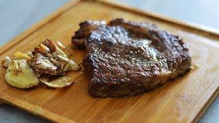روش طبخ استیک کاملا پروفشنال به سبک رستورانها - آبدار و نرم | Professional Pan Fry Steak Recipe