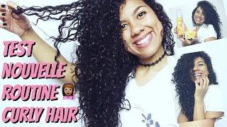 TEST marque CANTU: Nouvelle Routine Curly Hair (cheveux frisés, ondulés, bouclés)
