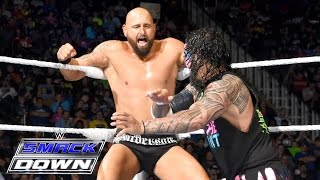Roman Reigns & The Usos vs. AJ Styles, Luke Gallows & Karl Anderson: SmackDown, 5. Mai 2016