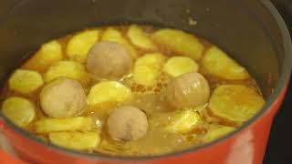 Lamb with Potato & Carrot Crust: MAGGI® Recipe وصفات ماجي: لحم الغنم بالبطاطا وعجينة الجزر