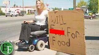 اشخاص مشردين يعانون الفقر ولكن ما صورته عدسة الكاميرات لهم كان الصدمة..!