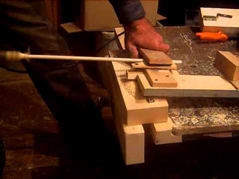 Изготовление шкантов для бруса