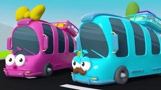 5 Küçük Otobüs - Eğlenceli Çocuk Şarkıları