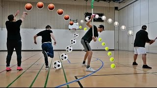IMPOSSIBLE SPORTS TRICK SHOTS CHALLENGE!!